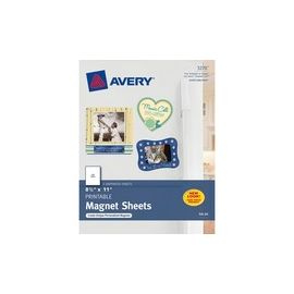Avery® Personal Creations Inkjet Print Printable Magnetic Sheet