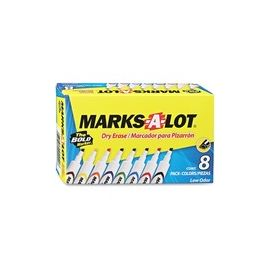 Avery® Marks A Lot Desk-Style Dry-Erase Markers
