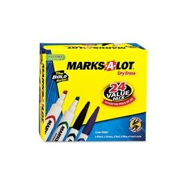 Avery® Marks A Lot Desk & Pen-Style Dry-Erase Markers