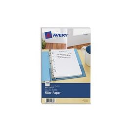 Avery® Filler paper for 3-Ring/7-Ring Mini Binders