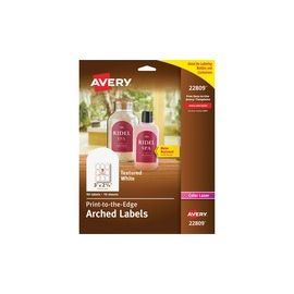 Avery® Arched Labels - Print to the Edge