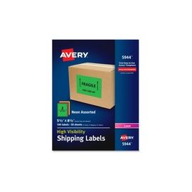 Avery® High-Visibility Shipping Labels