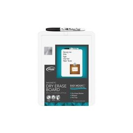 The Board Dudes Plastic Frame Magnetic Dry Erase Board