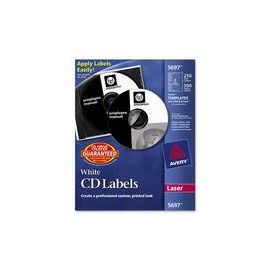 Avery® CD Labels with 500 Case Spine Labels