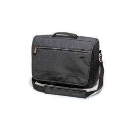 "Samsonite Modern Utility Carrying Case (Messenger) for 15.6"" Apple Notebook, Tablet, iPad - Charcoal Heather, Charcoal"