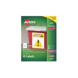 Avery® Durable ID Labels - Full Sheet