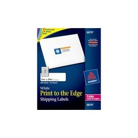 Avery® White Print-to-the-Edge Address Labels