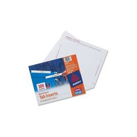 Avery® Printable Tab Inserts for Hanging File Folders