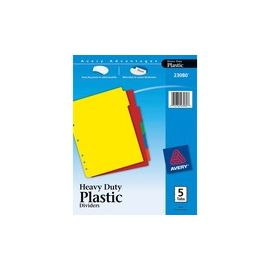 Avery® Heavy-duty Plastic Dividers