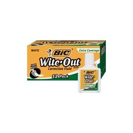 BIC Extra Coverage Wite-Out Brand Correction Fluid