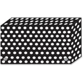B/W Dots Design Index Card Holder