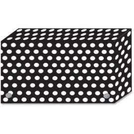 Black/White Dots Design Index Card Holder