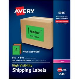 High-Visibility Shipping Labels
