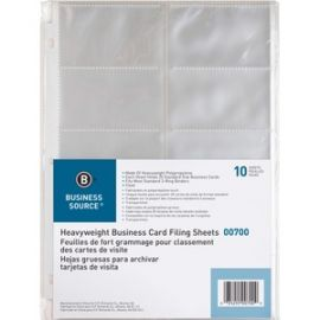 Heavyweight Business Card Sheets