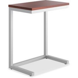 Cantilever Table, Chestnut Finish