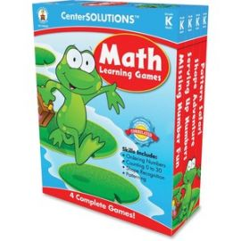 Grade K CenterSolutions Math Learning Games