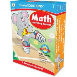 Grade 1 CenterSolutions Math Learning Games