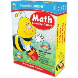 Grade 2 CenterSolutions Math Learning Games
