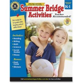 Grade K-1 Activities Workbook Activity Printed Book