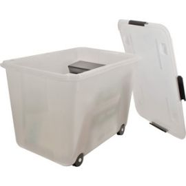 15-gallon Rolling Storage Tub