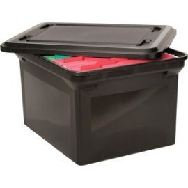 File Tote with lid