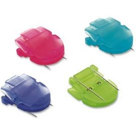Brightly Colored Panel Wall Clips