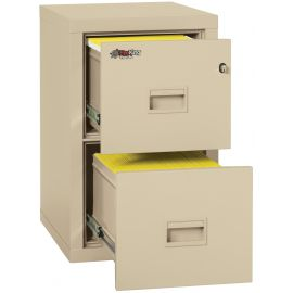 Fireking Turtle 2R1822-CBL One-Hour Fireproof Vertical Filing Cabinet-Fire Resistant File Cabinet-2 Drawer