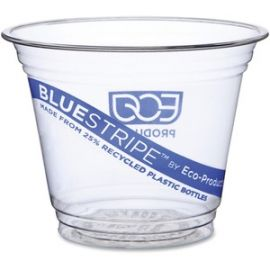 Eco-Products BlueStripe Cold Cups