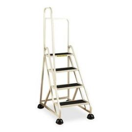 Aluminum Left Handrail Stop-Step Ladder