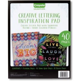 Creative Lettering Inspiration Pad