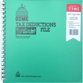 Tax Deduction File Book