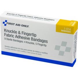 Knuckle/Fingertip Fabric Adhesive Bandages