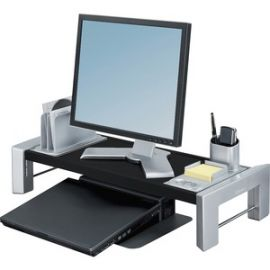Flat Panel Adjustable Height Workstation