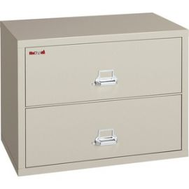 Insulated 2-Drawer Lateral Records File