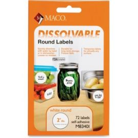 Dissolvable Labels