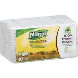 100% Recycled, C-Fold Paper Towels