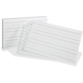 Primary Ruled Index Cards