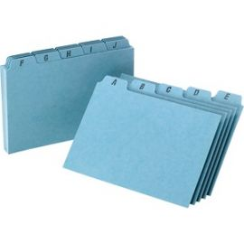 A-Z Tabs Index Card Guides