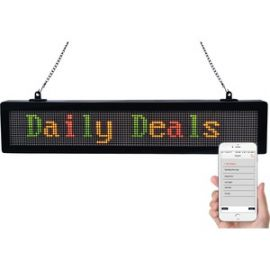 """22.5"""" Scrolling Message Sign with Bluetooth"""