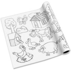 Self-adhesive Kid's Coloring Pages