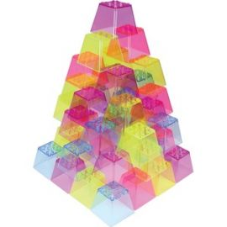 Crystal Color Stacking Blocks