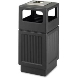 Canmeleon Ash Urn 38-gal Waste Receptacle