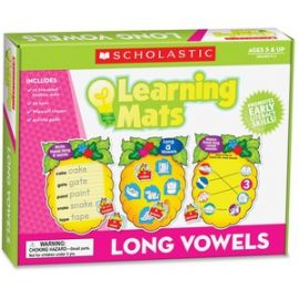Res. Grade K-2 Long Vowels Learning Mats