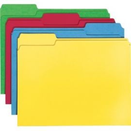 File Folders with Single-Ply Tab