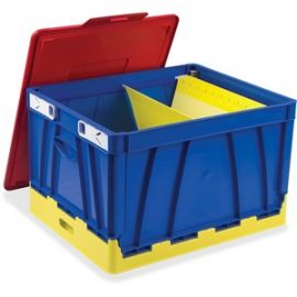 4 Piece Collapsible Crates