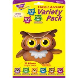 Bright Owls Accents Variety Pack