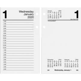 Loose-leaf Daily Desk Calendar Refill