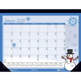 Seasonal Holiday Deskpad Calendar