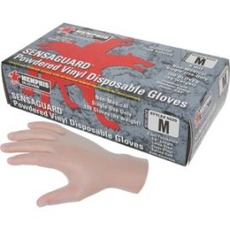 SensaGuard Vinyl Disposable Gloves