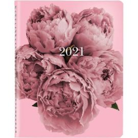 Pink Floral Monthly Planner